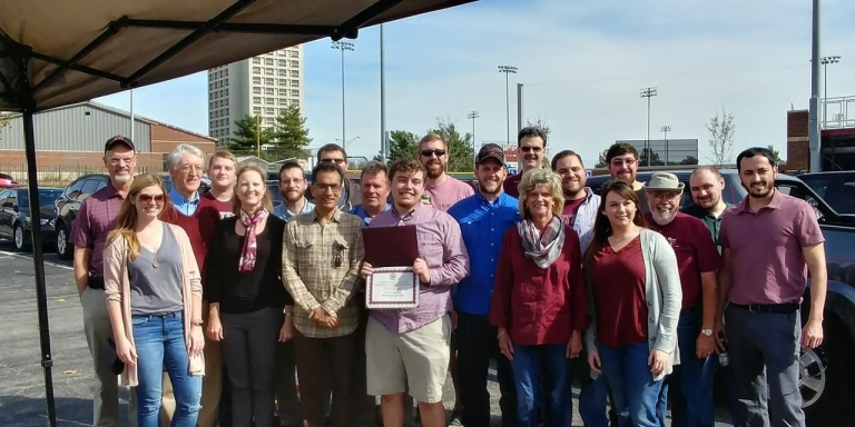 EKU Economics Government Thacker Award Homecoming Tailgate
